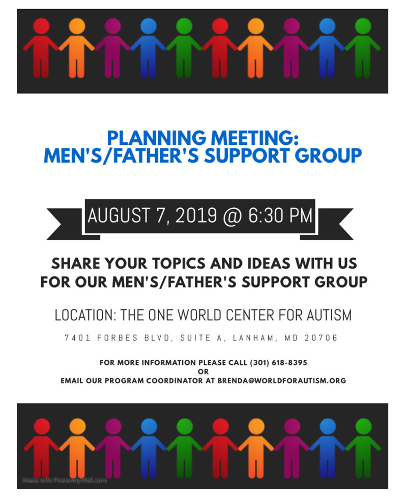 Men's/Father's support group