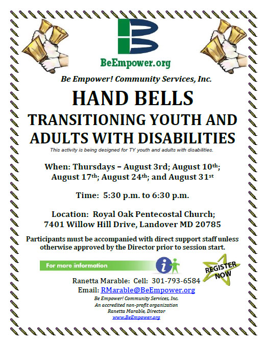 Transitioning youth and adults with disabilities.