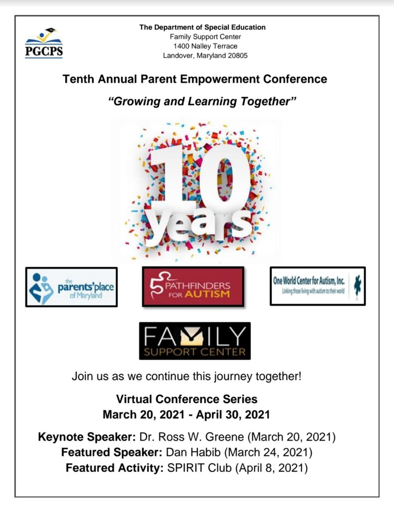 Parent Empowerment Conference 10